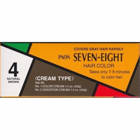 The Best Amazon Com Paon Seven Eight Creamy Type Hair Color Soft Black 7 Chemical Hair Dyes Beauty Pictures