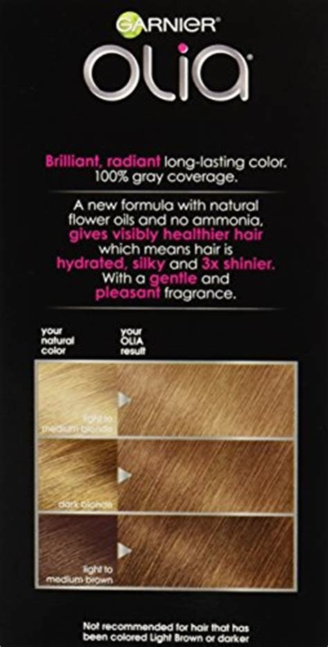 The Best Garnier Olia Oil Powered Permanent Hair Color 7 Dark Pictures