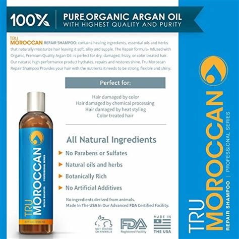 The Best Moroccan Oil Shampoo Best Natural Shampoo Organic Pictures