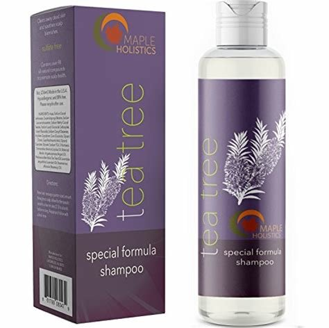 The Best Tea Tree Oil Shampoo Pure And Natural For Women And Men Pictures