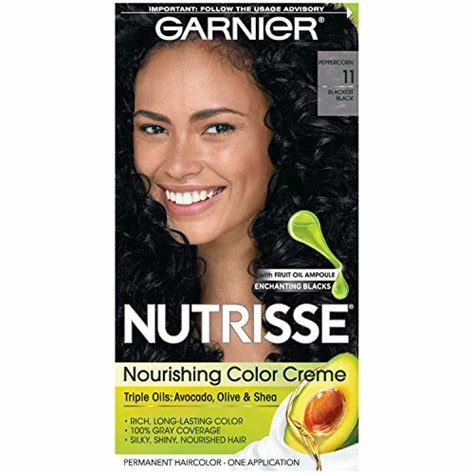 The Best Garnier Nutrisse Nourishing Hair Color Creme 11 Blackest Pictures