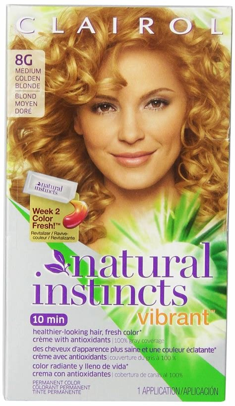 The Best Amazon Com Clairol Natural Instincts Vibrant Permanent Pictures