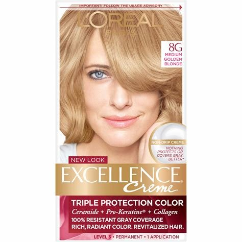The Best Amazon Com L Oreal Paris Superior Preference Fade Defying Color Shine System 8G Golden Pictures