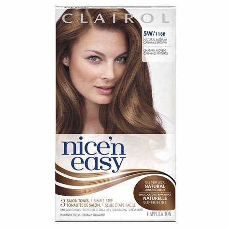The Best Amazon Com Nice N Easy Permanent Hair Color 6W Natural Pictures