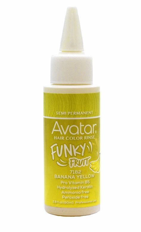 The Best Amazon Com Avatar Funky Fruit Semi Permanent Hair Color Pictures