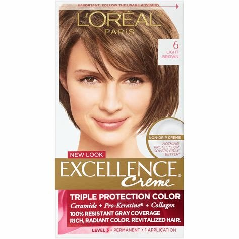 The Best Amazon Com L Oreal Excellence Creme Light Brown 6 1 Pictures