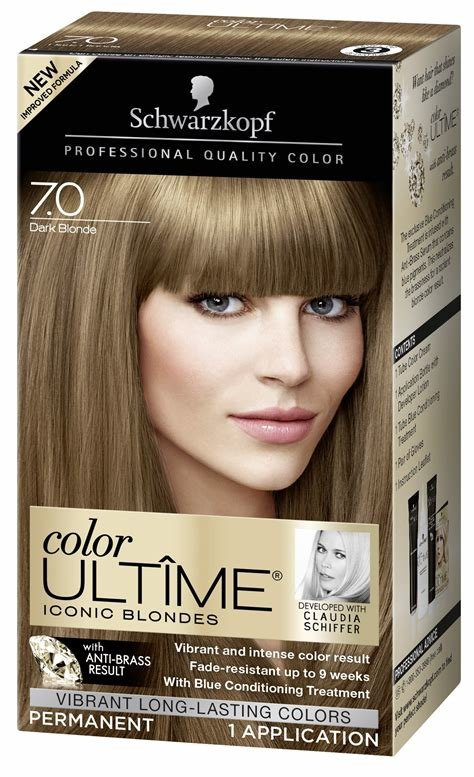 The Best Amazon Com Schwarzkopf Keratin Color Anti Age Hair Color Cream 7 5 Caramel Blonde Packaging Pictures