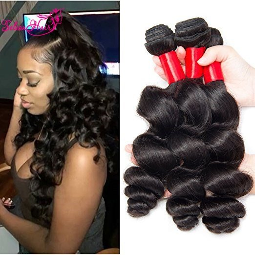 The Best Seleonhair Brazilian Loose Wave Hair African American 3 Pictures