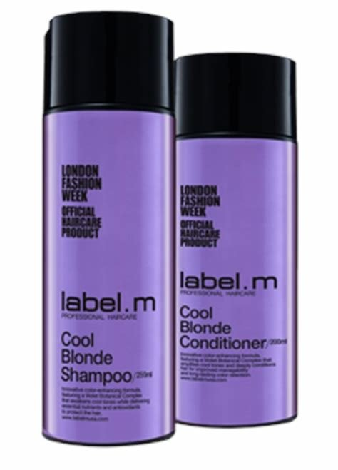 The Best New Product Alert Label M Cool Blonde Shampoo Pictures