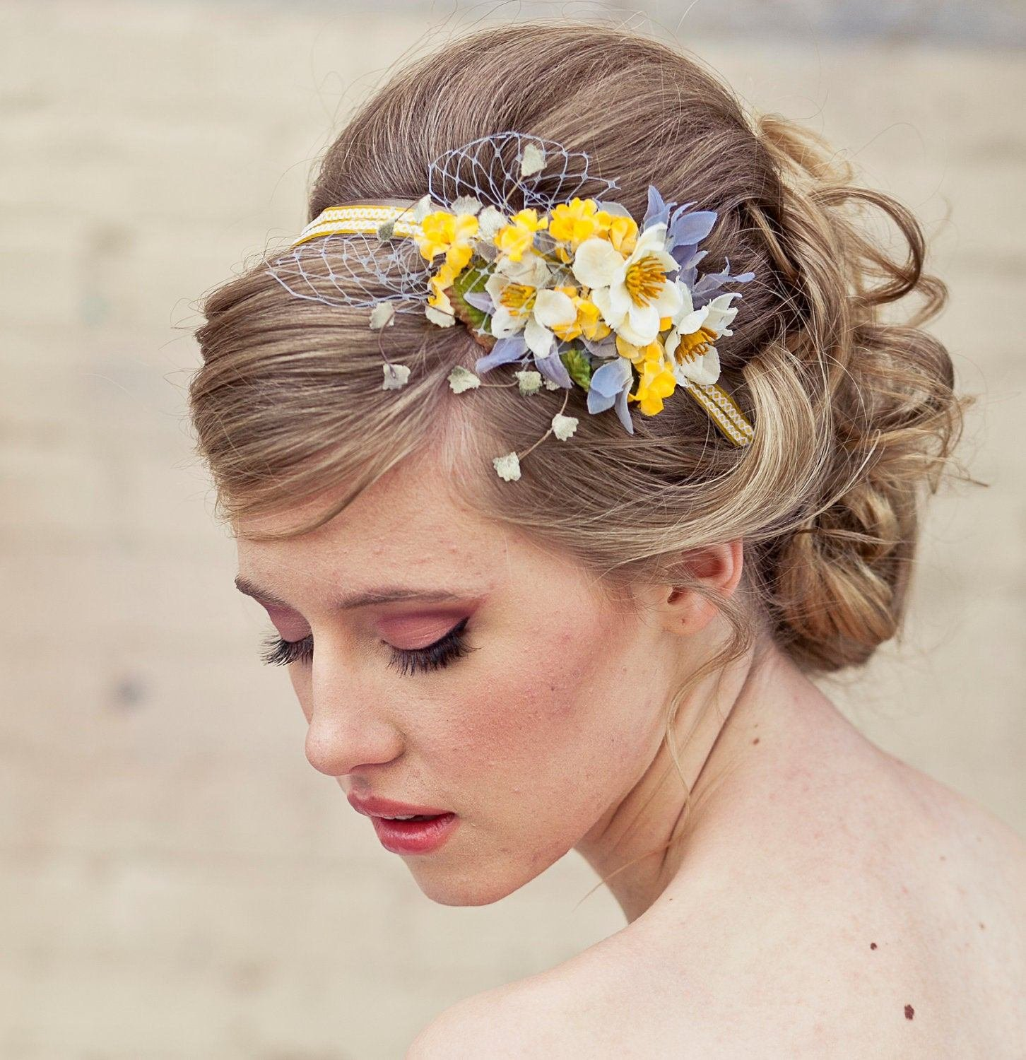 The Best Spring Flowers Headband Headbands For Women And Weddings Pictures Original 1024 x 768