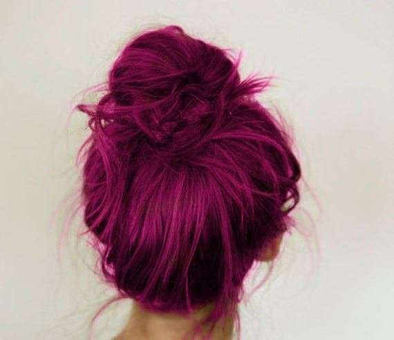 The Best Magenta Hair Chalk Large Salon Grade Stick Temporary Pictures