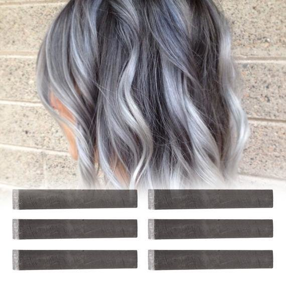 The Best 6 Best Temporary Ashy Grey Hair Dye For Dark And By Pastelstrands Pictures