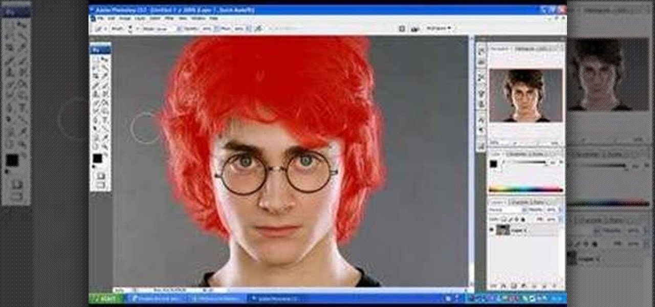 The Best How To Change Hair Color In Photoshop Cs3 Easily « Photoshop Wonderhowto Pictures