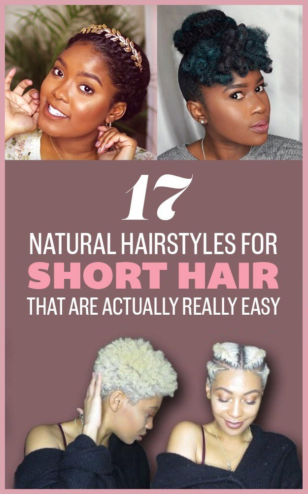 The Best 17 Gorgeous Natural Hairstyles That Are Easy To Do On Pictures