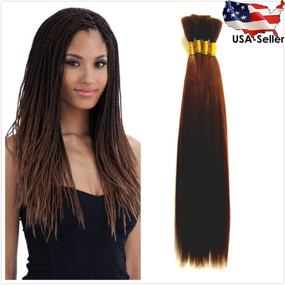 The Best Straight Yaki Bulk Braiding Hair Extension 7 Colors Pictures