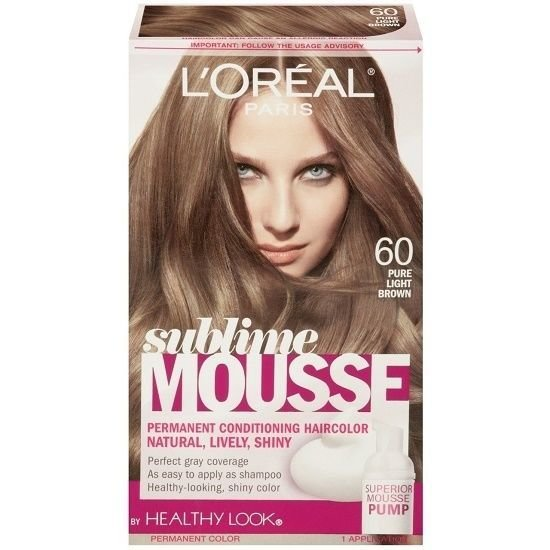 The Best L Oreal Healthy Look Sublime Mousse Hair Color 60 Pure Pictures