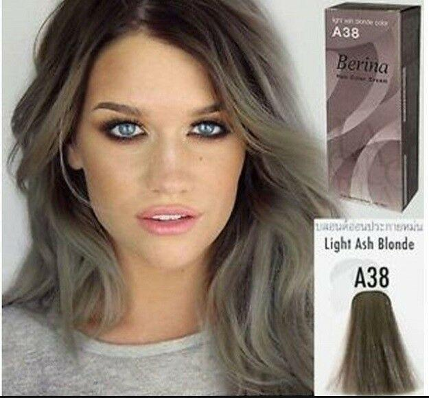The Best Berina A38 Light Ash Blonde Hair Colors Cream Style Dye Pictures