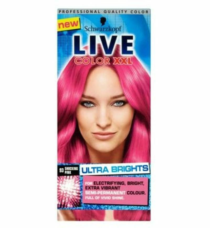 The Best Schwarzkopf Live Color Xxl 93 Shocking Pink Semi Permanent Pictures