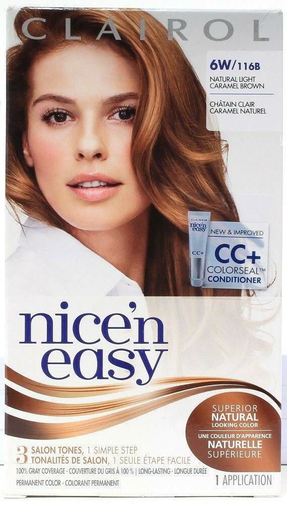 The Best Clairol Nice N Easy Permanent Hair Dye 6W 116B Natural Pictures