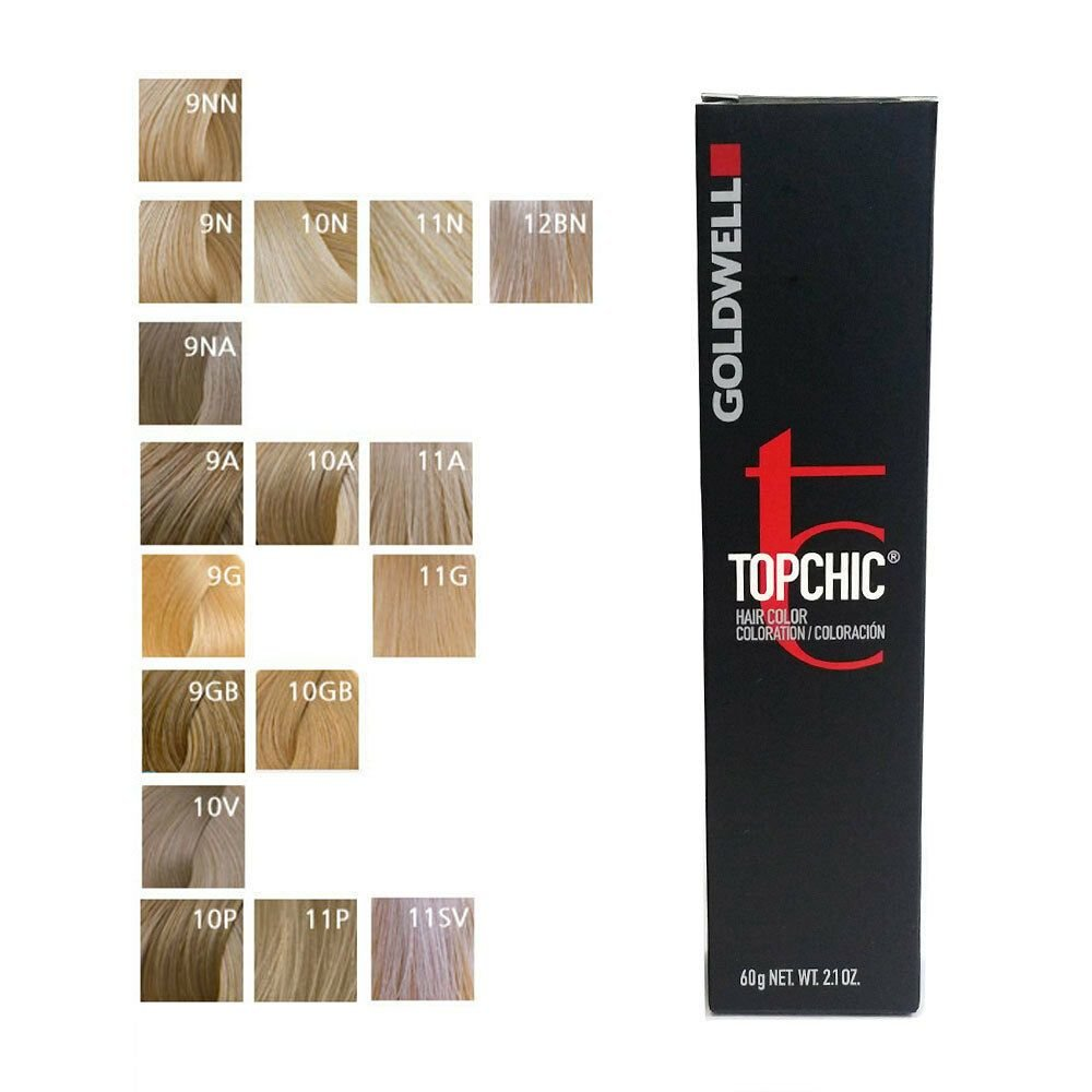 The Best Goldwell Topchic Permanent Hair Color Tubes 2 1 Oz Light Pictures