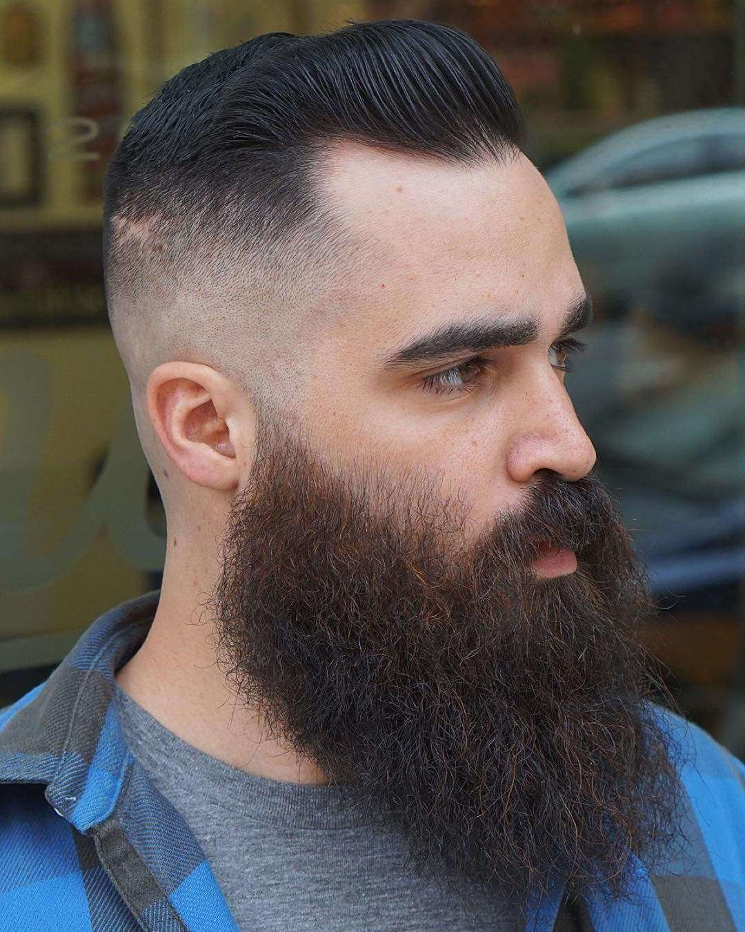 The Best Top 30 Hairstyles For Men With Beards Pictures