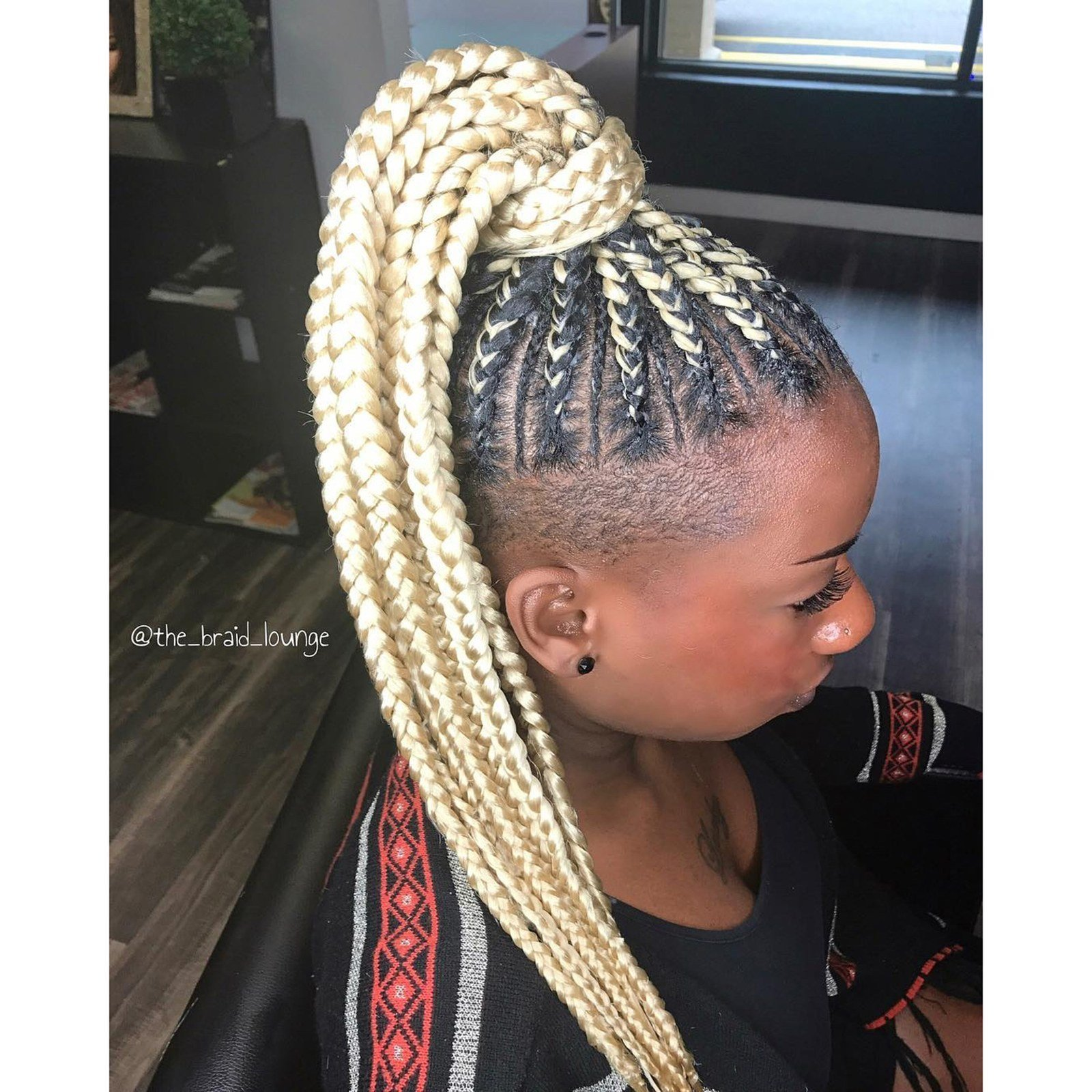The Best 28 Best Black Braided Hairstyles To Try In 2018 Allure Pictures