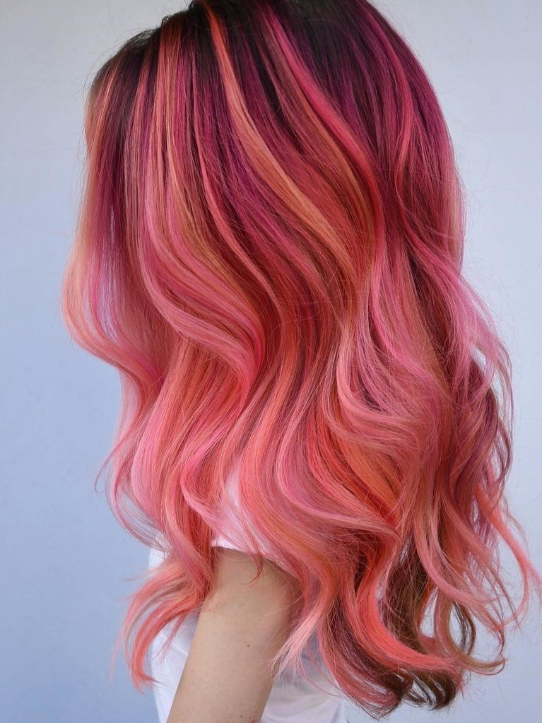 The Best Flamingo Hair Is The Prettiest Way To Go Pink This Summer Pictures