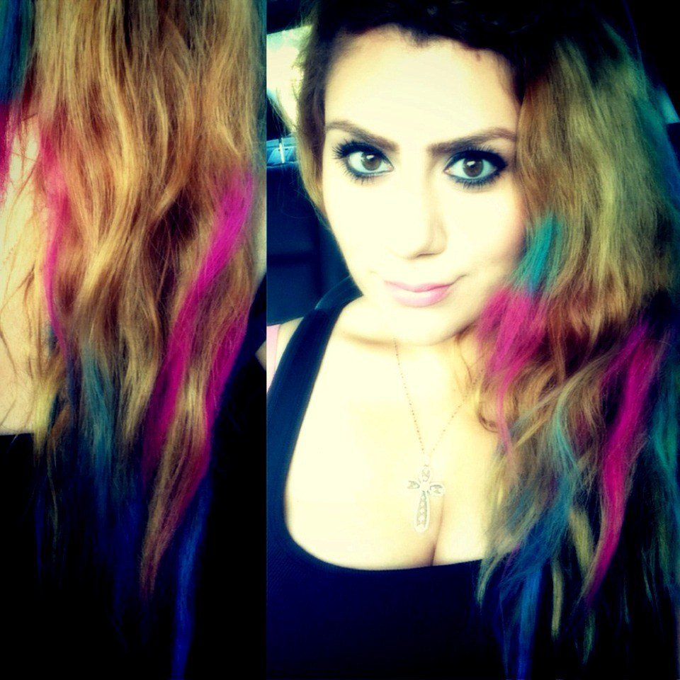 The Best How To Get Colorful Hair Without Dying It Permanently Pictures