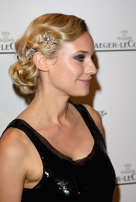 The Best Jeweled Finger Waves Wedding Hairstyle Brides Pictures