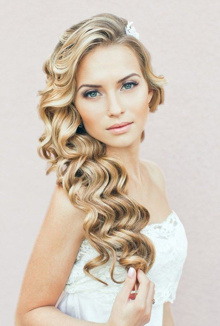 The Best Must See Spiral Curl Hairstyles For Brides Mon Cheri Bridals Pictures