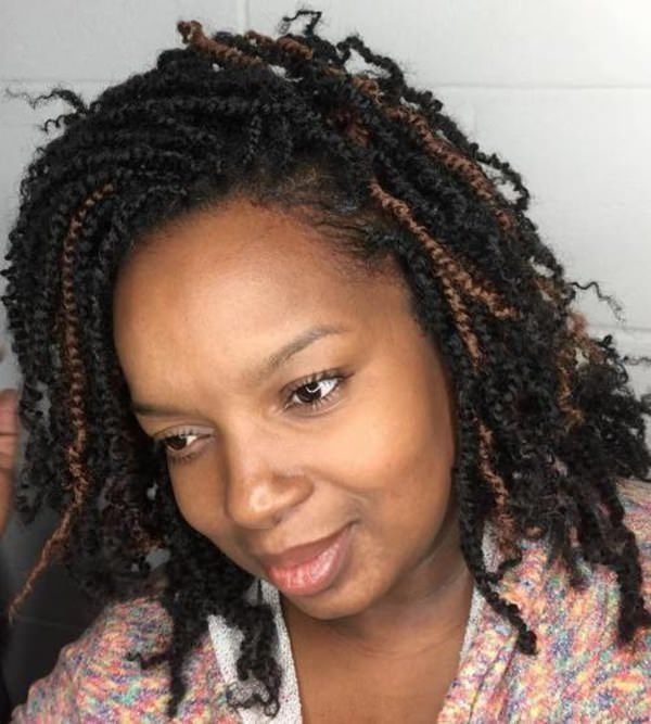 The Best 32 Beautiful Twist Braids To Try This Spring Bun Braids Pictures