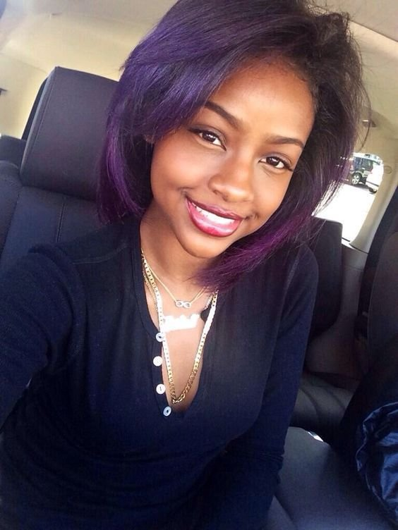 The Best Hair Color Ideas For Dark Skin Pictures
