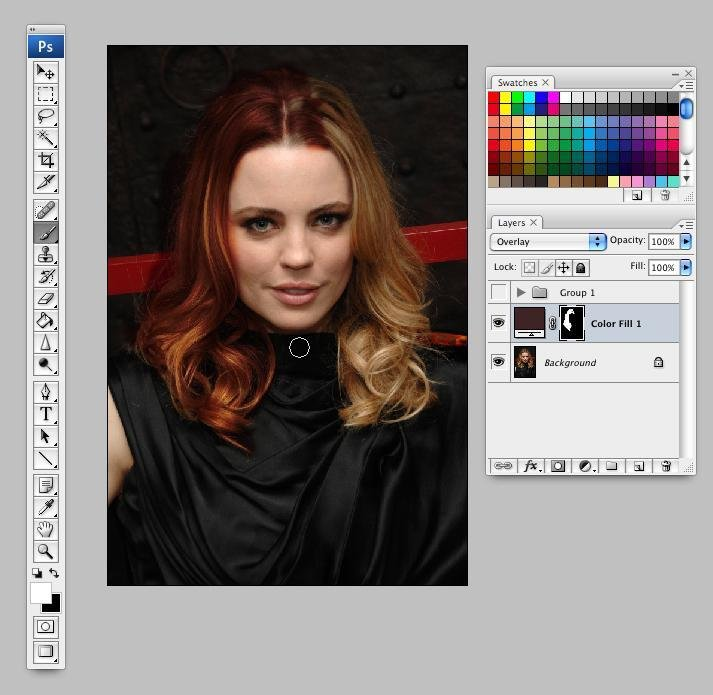 The Best Picture Editing How To Change Hair Color Using Paint Net Pictures