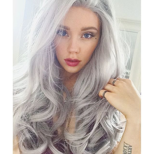 The Best 16 Ways To Rock The Gray Hair Color Trend Pictures