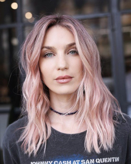The Best New Hair Color Trends For 2018 2019 Fashionre Pictures
