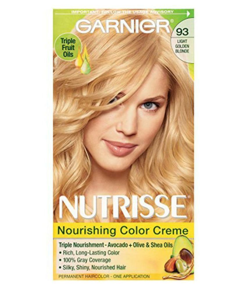 The Best Garnier Temporary Hair Color Golden Blonde 1 Gm Buy Pictures