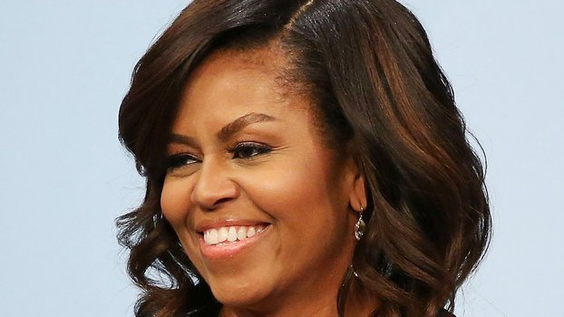 The Best Michelle Obama Rocks Natural Hair In Instagram Photo See Pictures