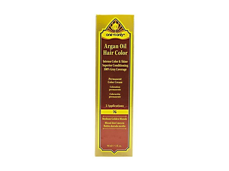 The Best One N Only Argan Oil Hair Color 7G Medium Golden Blonde Pictures