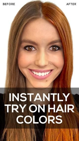 The Best Hue Altering Hair Apps Hair Color App Pictures