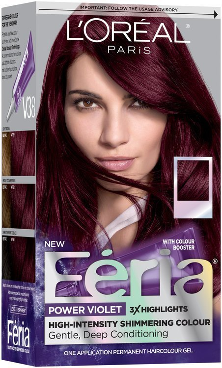 The Best L Oréal® Paris Feria® Power Violet V38 Intense Deep Violet Pictures