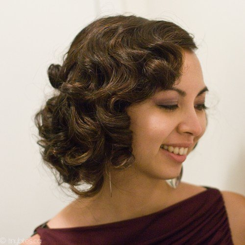 The Best East Vanity Parlour Wet Set Pin Curls 40 Updo For The Pictures