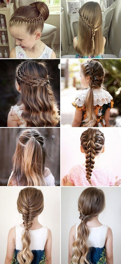 The Best Different Hairstyles For Kids Girls Pictures