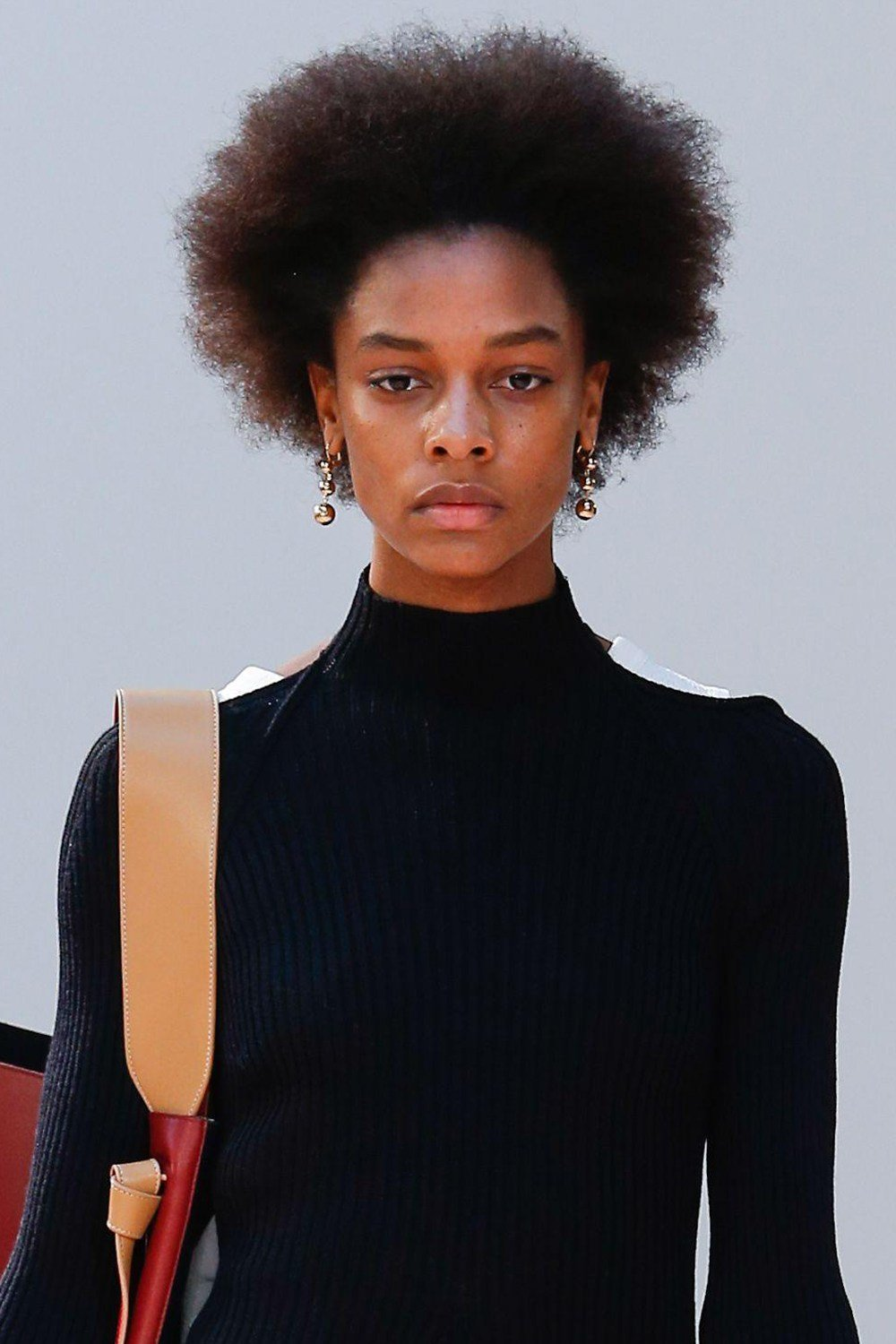 The Best Afro Hair On The Catwalk Pictures