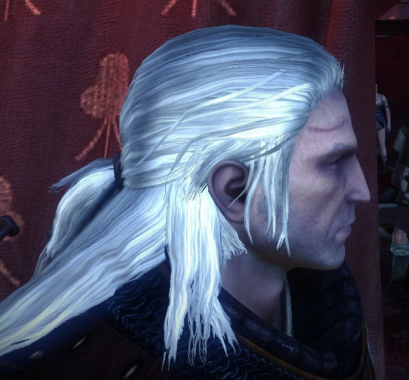 The Best Return Of The White Wolf Hair Texture Replacement At The Pictures