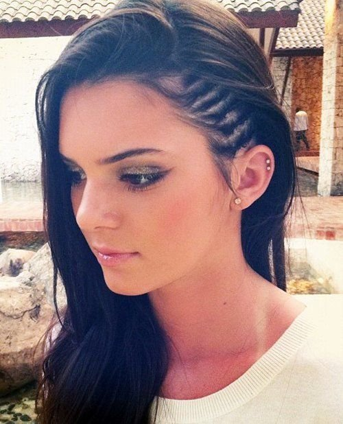 The Best Faux Undercut Style Side Braids – Strayhair Pictures