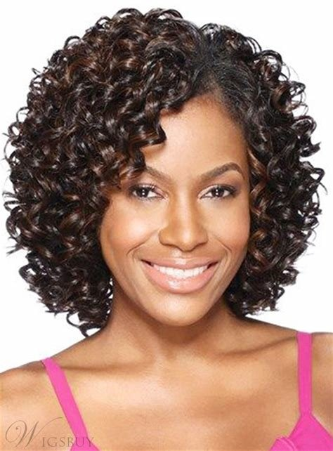 The Best African American K*Nky Curly Shoulder Length Synthetic Pictures