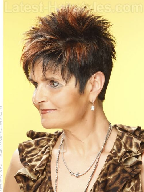 The Best Spiked Hair Cuts For Women Over 50 Hairstyles For Women Pictures