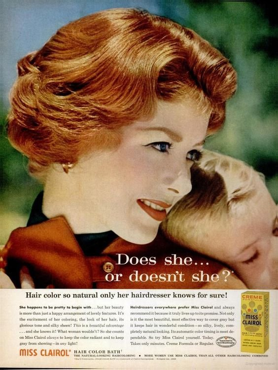 The Best Miss Clairol Hair Color Bath 1962 1960S Material Culture Pinterest Colors Hair And Pictures