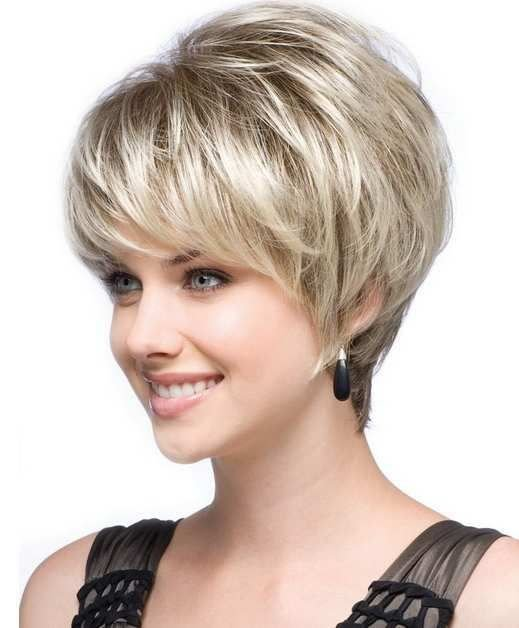 The Best Best And Cute Haircut For Round Faces And Thin Hair Of Pictures
