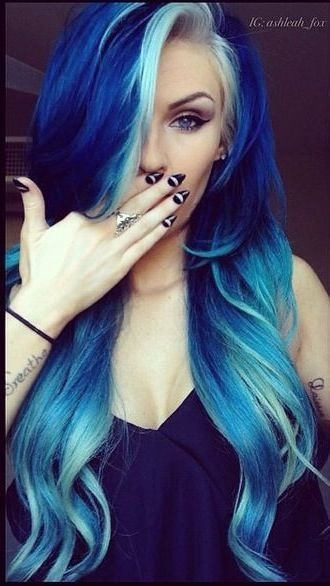 The Best 17 Great Blue Hairstyles The White Red Hair And Hair Pictures